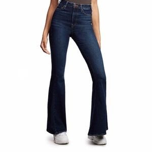 TRUE RELIGION ultra high rise flare jeans